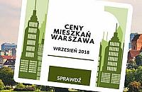 Ceny mieszkañ w Warszawie - wrzesieñ 2018
