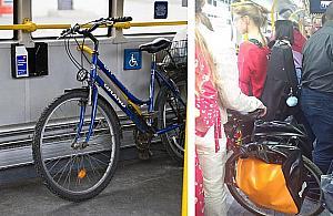 """Rower w komunikacji miejskiej. """"To przywilej"""""""