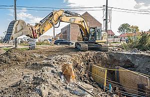 G³êbocka: robotnicy uszkodzili gazoci±g, mieszkañcy ewakuowani
