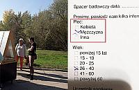 Park a sprawa gender. Dziwna ankieta na Tarchominie