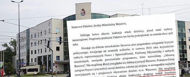 POPiSowy list na Bemowie. Kampania za publiczne pieni±dze?