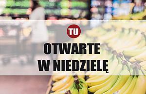 Niedzielne zakupy na Bia³o³êce. Lista sklepów