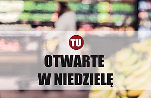 Niedzielne zakupy w Nadarzynie i okolicach. Lista sklep�w