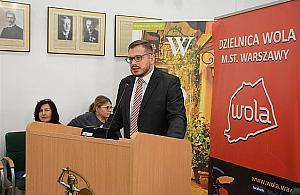 Burmistrz Strza�kowski zostaje na Woli