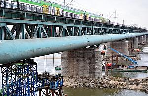 Most Gdañski w remoncie. Kiedy poci±gi pojad± szybciej?