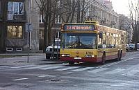 Autobus znika z Przybyszewskiego