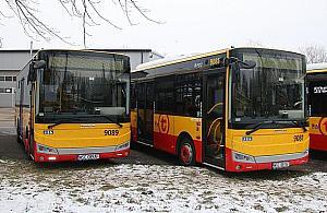 Nowo¶æ w Warszawie. Autobusy z Turcji ruszaj± na ulice