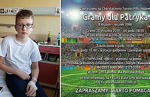 Zagrajmy dla Patryka. Turniej dla 13-letniego zawodnika Bia³ych Or³ów