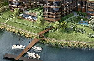 S±d wstrzymuje budowê apartamentowca nad zalewem