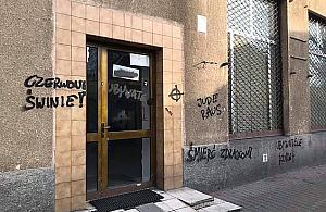 """""""Jude raus"""". Rasistowskie napisy na Wolskiej"""
