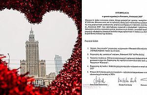 """Bêd± miejskie... Walentynki? """"Zakochaj siê w Warszawie"""""""