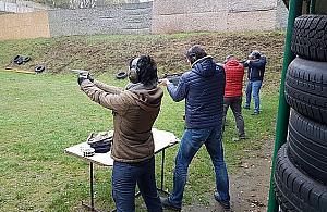 Na strzelnicy zapad�a cisza. Na jak d�ugo?