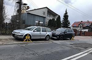 Kara za parkowanie na piachu. Stra�nicy w akcji