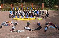 """""""Po³±czy³ nas rower"""". Pomó¿my m³odzie¿y z Ukrainy"""