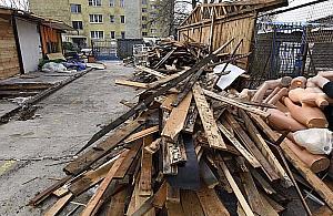 """Rozbi�rka bazaru. W zamian """"park linearny"""""""