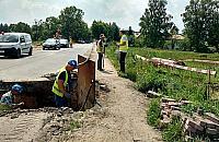 Rozbudowa wodoci±gu Parole - Rusiec