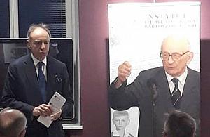 W�adys�aw Bartoszewski odwiedzi� Nadarzyn