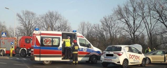 Powa¿ny wypadek na Bia³o³êce. Dwie 13-latki ranne