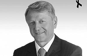 Zmar� Wojciech Gawkowski, zast�pca starosty pruszkowskiego
