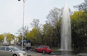 """""""Nowa fontanna na Bemowie"""". Imponuj±cych rozmiarów"""