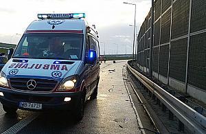 Tragiczny wypadek na S8. Zgin�y dwie osoby
