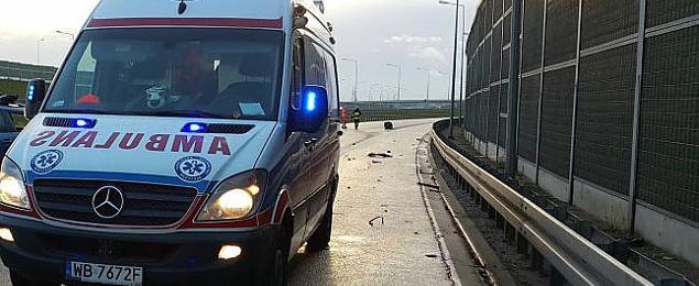 Tragiczny wypadek na S8. Zginê³y dwie osoby