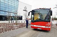 Przyjd¼, oddaj krew. Czerwony autobus na Tarchominie