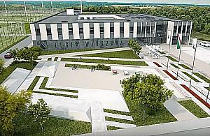 Ruszy³a budowa centrum treningowego Legii