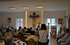 Nowa parafia w Ru�cu. Kaplica z relikwiami papie�a