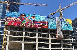 Rysunek siedmiolatki wzniesie si� nad Wol�