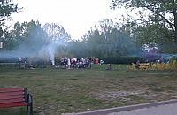"""Sp�r nad grillem na Jelonkach. """"Park tonie w dymie"""""""