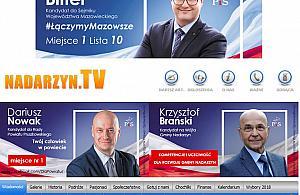Reklamowa� PiS podczas ciszy wyborczej