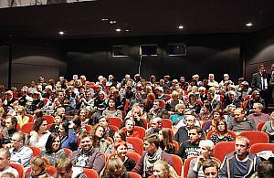 Pierwsze kino na Zielonej Bia�o��ce
