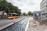 Ossowskiego wci�� rozgrzebana. Nowe trasy autobus�w