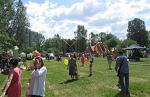 Wielka impreza dla dzieci w parku Picassa