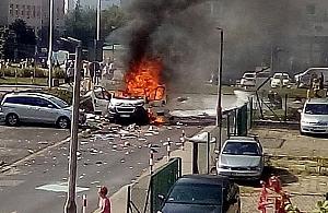 Pot�ny wybuch na Bemowie. Nieoficjalnie: ofiara �miertelna