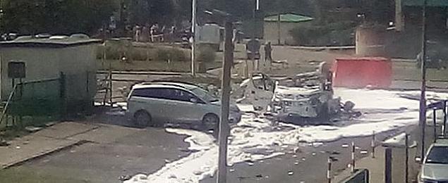Wybuch na Bemowie. Dwie osoby zgin�y, pi�� rannych