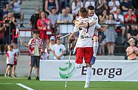 Lewandowski, Grosicki i Fabia�ski - wielkie gwiazdy futbolu na Bemowie