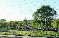 Park G�rczewska pod pr�dem. Kiedy znikn� kable?
