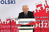 """Jaros�aw Kaczy�ski w Legionowie: """"B�dziemy broni� tradycyjnej rodziny"""""""