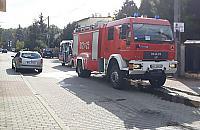 Akcja stra�ak�w w Wawrze. Po�ar wybuch� w kuchni