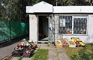 """Akcja dla lokalnego warzywniaka. """"Niech ka�dy kupi kilogram jab�ek"""""""