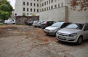 Parkowanie po wolsku. Tylko dla swoich