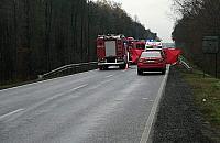 �miertelny wypadek na Warszawskiej. Czo�owe zderzenie z ci�ar�wk�