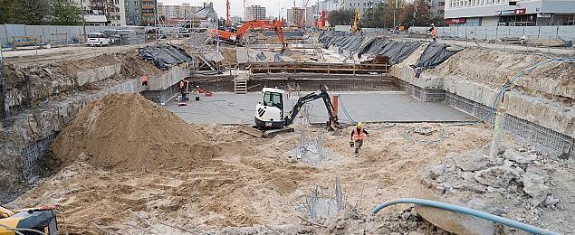 Metrem na Br�dno. Rusza budowa stacji