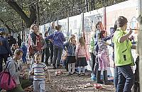 """Imponuj�cy kolorowy mural w Marysinie. """"Dzieci zachwycone"""""""