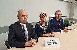 Piotr Kobierski nowym wiceburmistrzem Bemowa
