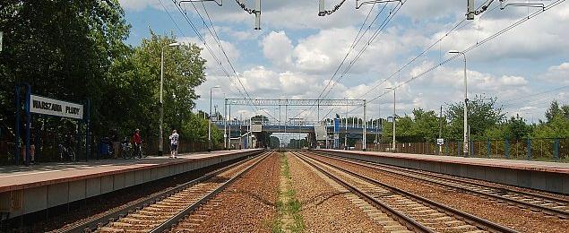 Linia kolejowa do przebudowy. B�d� dodatkowe tory