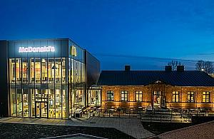 Naj�adniejszy McDonald's w Warszawie? Fast food w zabytku