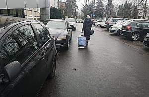 Stare Bielany nielegalnym parkingiem. Prawie 5 tysi�cy wykrocze�